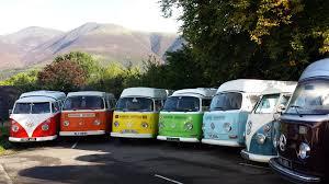 volkswagen minivan 1960 vw volkswagen rainbow camper van hire home