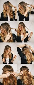 easy hairstyles for waitress s 11 super cute and easy hair tutorials for the girl on the go