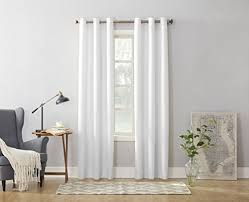 White Cotton Curtains White Cotton Curtains Amazon Com