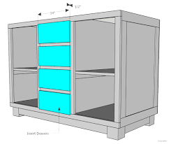 kitchen cabinet blueprints how to build a diy kitchen island cherished bliss