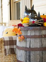 halloween barrel prop halloween bat decorations craft for kids hgtv