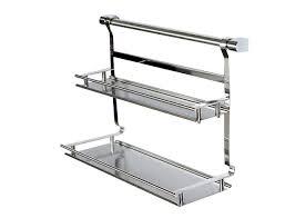 mensola acciaio cucina in acciaio inox mensola rack di stoccaggio mensola da bagno