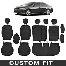 bdk custom fit seat covers for toyota camry oem micro fit 2