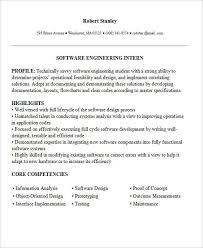 sample engineering internship resume shining inspiration
