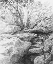 drawing foliage with pencils u2014 this is an article from an old