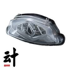 gsx s1000 tail light for suzuki gsx s1000 integrated tail light for rear brake l cm