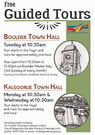 kalgoorlie boulder tours accommodation information boulder town