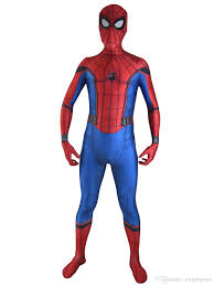 2017 new spiderman homecoming costume halloween cosplay spider man