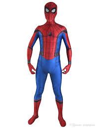 2017 new spiderman homecoming costume halloween cosplay spider man