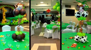 jungle theme decorations jungle theme balloon decoration