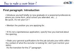 bunch ideas of cover letter introduction sentence about example