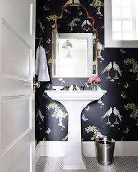 wallpaper for bathroom ideas top 25 best small bathroom wallpaper ideas on half