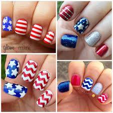 patriotic 4th of july nail ideas crafty morning