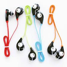 wireless sweatproof sport bluethooth earbud headphones with
