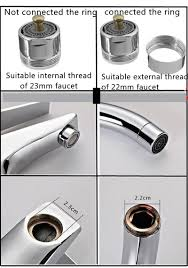 aliexpress com buy brass touch control faucet aerator water