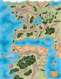 World Map Winter by Golarion World Map Kings Of Kings