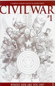 civil war comic books issue 1