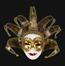 venetian jester mask carta alta venetian masks jolly joker jester masks for your