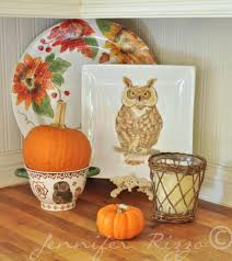 pumpkins as fall decor in my home jennifer rizzo