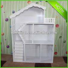 fashion white kids wooden dollhouse bookcase kids furniture buy