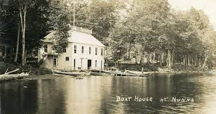 Boat House Historic Postcard Boathouse At Nunn U0027s On The South Bay Of