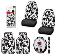 Auto Expressions Bench Seat Covers Mickey Mouse Seat Covers Ebay