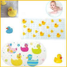 Kids Bathtub Mat Kids Duck Design Anti Slip Rubber Bath Mat With Yellow Duckies 78