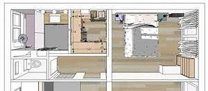 plan chambre a coucher gallery of plan chambre o mettre le lit dans la chambre c t modele