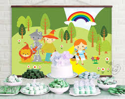 Wizard Of Oz Party Decorations Wizard Of Oz Party Etsy