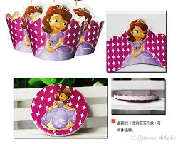 sofia the party supplies sofia princess cupcake wrappers and toppers baby party birthday