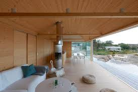 wood interior homes corrugated metal houses with wood interiors