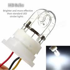 strobe light light bulb 160w 12v 8 hid bulbs hide a way emergency hazard warning strobe