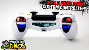 ps4 custom light bars custom controllers controller chaos