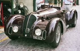 alfa romeo 6c alfa romeo 6c 2500 ss 1942 revivaler