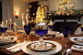 hanukkah decorations traditional dining room san diego by