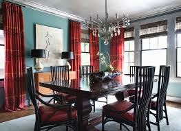 Curtains With Red Red Paisley Curtains With French Doors Living Room Traditional And