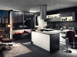 cuisine moderne noir et blanc cuisine design noir cuisine moderne en chene cbel cuisines