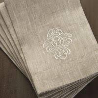 fingertip towels crown linen