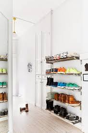storage best creative shoe storage ideas for small spaces spaces