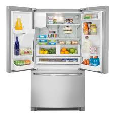 Samsung French Door Reviews - frigidaire ffhb2740ps 36 inch french door refrigerator with cool