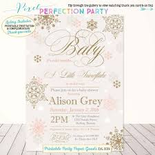 winter baby shower invitation image collections invitation