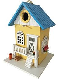amazon com home bazaar hand made nantucket cottage blue bird