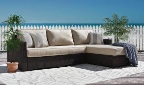 Lloyd Flanders Bay Breeze Lloyd Outdoor Patio Sectional Sofas U0026 Loveseats Wayfair