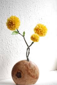 Yellow Pom Pom Flowers - yarn pom pom flowers i create stuff sometimes