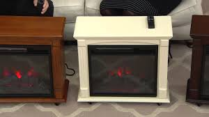 duraflame 1500w infrared quartz rolling mantle heater with rick