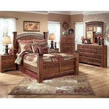 timberline king size poster bedroom set w underbed storage by ashley furniture home elegance usa timberline poster bedroom set signature design by ashley furniture