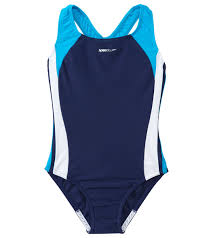 infinity speedo girls u0027 solid infinity splice one piece swimsuit 7 16 at
