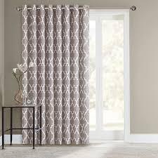 Curtain Patio Door Sonoma Style Fret Patio Door Curtain 100 X 84 Palm