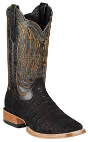 ariat black cowboy boots boot yc