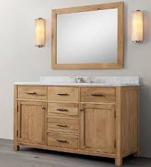 Walnut Bathroom Vanity Wnut01 55 Wooden Bathroom Vanity In Light Walnut Color From Walnut